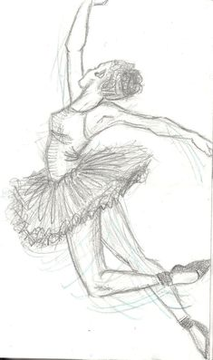 drawing of dancer | Ballet Sketches 1 by ~Annie-cant-draw on deviantART