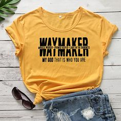 Violet Rouge, Blouses For Women, T Shirts For Women, Basic Tops, Great T Shirts, Yellow Black, Neck T Shirt, Tee Shirts, Sleeves