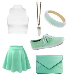 """Minty"" by mintynoelle on Polyvore"