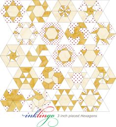 Pieced hexagons are little works of art. We are sharing some of our best ideas for setting them.