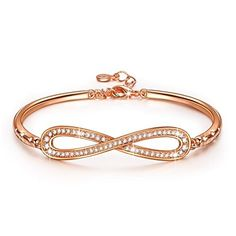LADY COLOUR  Infinity  Bracelet for Women with Crystals from Swarovski  PARIS VOGUE collections LADY COLOUR Infinity Swarovski collections is a popular choice from the top items sold online in Jewelry category in UK. Click below to see its Availability and Price in YOUR country.