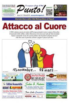 Il pdf gratuito del Punto! numero 06 2016 con le ultime news da tutti i comuni e Napoli