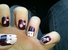 Guinea pig nails(it may sound ridiculous, but to me it's adorable)