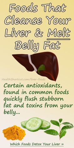 Best Foods for Cleansing Your Liver and Eliminating Belly Fat.