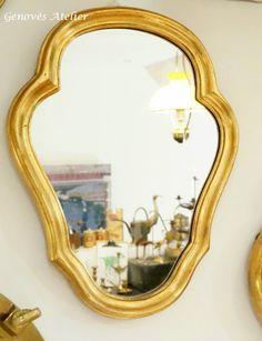 Pareja de espejos de estilo frances 3 Genoves Atelier