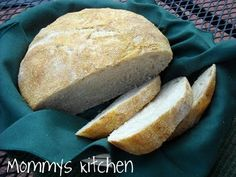 Mommy's Kitchen: Worlds Easiest Crusty Bread