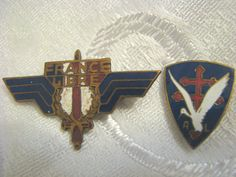 French Forces of The Interior FFI Air Force Division Insignia WWII   eBay