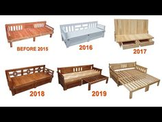 Summary Of Process Improvement Of Chair Combined With Bed Box Bed Design, Sofa Design, House Design, Wooden Door Design, Wooden Doors, Diy Sofa, Diy Bed, Space Saving Furniture, Diy Furniture