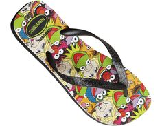 Havaianas and the Muppets!