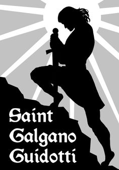 #saint #galgano #guidotti #catholic #christian #art