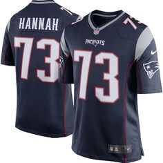 John Hannah New England Patriots Nike Retired Player Game Jersey - Navy Blue - $99.99