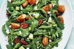 Honey Balsamic Chicken and Goat Cheese Salad
