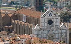 Florence - Santa Croce, final resting place of giants