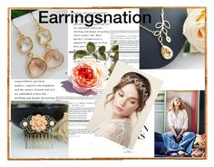 """""""Earringsnation-13"""" by nihada-niky ❤ liked on Polyvore featuring earringsnation"""