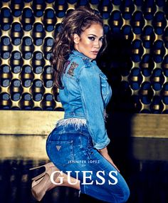 Jennifer Lopez for the Guess Spring 2018 Ad Campaign | Tom + Lorenzo