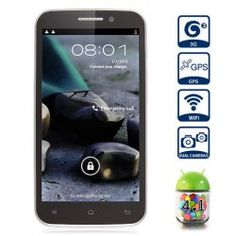 This phone will only work with GSM+WCDMA network   GSM 850/900/1800/1900 WCDMA 850/2100MHz.  Unlocked for Worldwide use, please check if your local area network is compatible with this phone    Main Features  Type: Phablet  Color: Black  OS: Android 4.1  CPU: Media Tek MTK6589 Quad Core 1.2GHz  G...  Click on Picture to go to Store