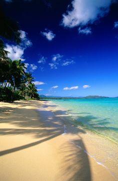 Waimanalo Bay Beach   Oahu, Hawaii