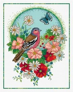 Buy needlework charts, cross stitch charts - Animals & Birds by Lesley Teare