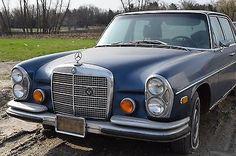 eBay: 1972 Mercedes-Benz 200-Series SEL 1972 Mercedes Benz 280 SEL 4.5- 25 Yr Old Stored Barn Find PROJECT PARTS CAR #carparts #carrepair