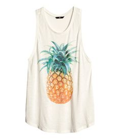 Pineapple shirt   H&M GB