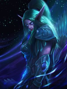 Tyrande fanart by LeeJJ.deviantart.com on @DeviantArt - More at…