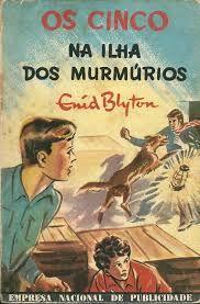 enid blyton os cinco - Tardes de férias no Algarve, os pais a dormir a sesta e eu a ler