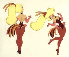 Goldie Pheasant from Rock-A-Doodle.