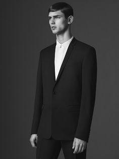 MP Paris: ARTHUR GOSSE lookbook Dior Homme FW12 by Paul Wetherell