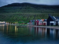 Lake On The Faroe Islands