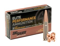 Sig Sauer 300 Blackout Ammunition for Hunting, The new all-copper 300 Blackout Ammunition supersonic ammo from Sig Sauer.