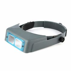 A hands-free precision binocular headband Used by anyone whose profession or craft requires close accurate work. wiht a focal length of 8 inches and magnification Engraving Tools, Glass Engraving, Jewelry Tools, Jewelry Design, Jewelry Making, Focal Distance, Sea Glass Crafts, Eyeglass Holder, Unusual Jewelry