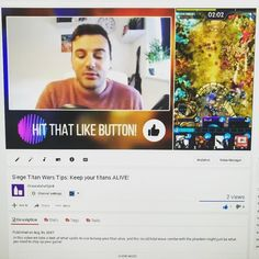 Next video is up! If you haven't picked this game up yet I think you'll like it. If you watch my vid you feed me chocolate. 1 View = 1 Chocolate. -- Partners! -- @natalievakarian -- Tags -- #youtube #youtuber #youtubers #contentcreator #videogames #videos #videomaker #videocreator #gaming #gamers #game #gamer #games #youtubegamer #subscribe #comment #Siegetitanwars #followme #destiny #bungie #skyrim #bethesda #xbox #callofduty #destiny2 #minecraft #partnerup #craftroyale #clashroyale