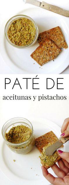 Paté de aceitunas verdes y pistachos – Olivada o tapenade | Receta de Tasty details