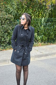 Trench outfit #trench  #outfit  #manteau  #winter  #look