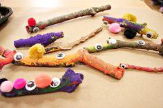"""Stick creatures ("""",)"""