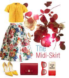"""How to wear the midi-skirt"" http://thefolkloreinc.blogspot.mx/2014/10/htw-midi-skirt.html"