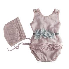 I know this is for a baby, but I want to make Audrey a swimsuit like this! tocoto vintage