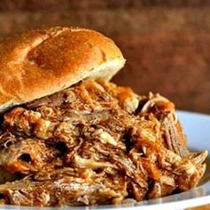 Pulled Pork (Crock Pot) Recipe cant beat a bit off pulled pork for a lazy dinner!