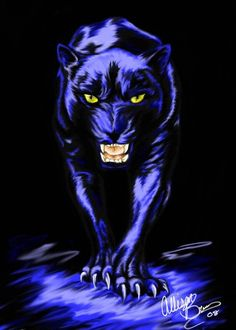 Black Panther by Alliekattus on DeviantArt Black Panther Drawing, Black Panther Cat, Black Panther Tattoo, Black Panther Marvel, Big Cats Art, Cat Art, Animal Paintings, Animal Drawings, Big Cat Tattoo
