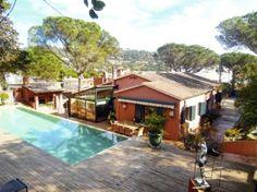 Rental villa Llafranc : 10 people, view mountains/hills, private swimming pool - AFR869 - Sardanna - Villas du Monde