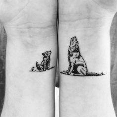 Wolf Tattoo Designs for Men and Women - Tatuajes - tattoos Modern Tattoo Designs, Stammestattoo Designs, Tribal Tattoo Designs, Tattoo Designs For Women, Tribal Tattoos, Geometric Wolf Tattoo, Owl Tattoos, Tattoo Drawings, Fish Tattoos