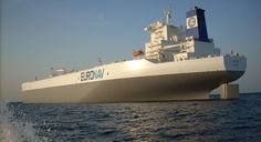 """EURONAV's Ultra Large Crude Carrier (ULCC) """"TI Europe"""" is presently the largest vessel in the world."""
