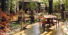 shambala ristorante con giardino