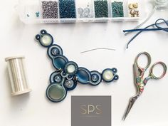 """Suzy Palhazy Soutache on Instagram: """"Magical gift for this Christmas - SPS Handmade unique jewellery, made to order! Contact details: 00 36 20 356 6275 or…"""""""