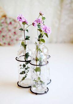 reuse glass bottles crafts