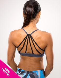 The Sofi Short Top is uniquely designed for the active female. Wear to the gym, work out or running errands.