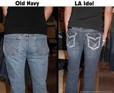 Makeover Old Navy to LA Idol 2