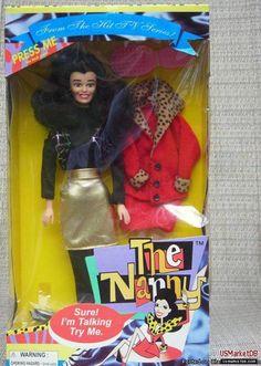 It's a Fran Drescher talking doll...oh the horror...