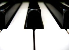 The feel of piano keys