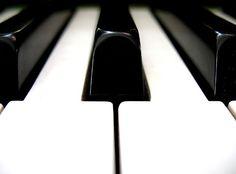The feel of piano keys